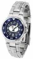 BYU Cougars Competitor Steel AnoChrome Women's Watch - Color Bezel