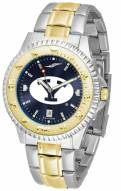 BYU Cougars Competitor Two-Tone AnoChrome Men's Watch