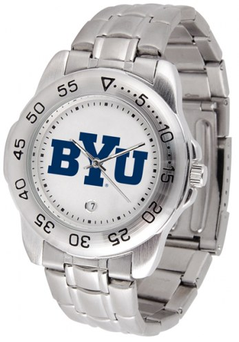 BYU Cougars Sport Steel Men's Watch