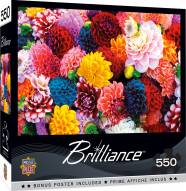 Brilliance Beautiful Blooms 550 Piece Puzzle