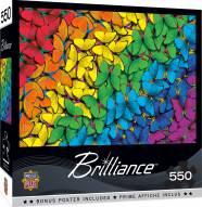 Brilliance Fluttering Rainbow 550 Piece Puzzle