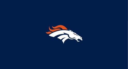 Denver Broncos NFL Team Logo Billiard Cloth