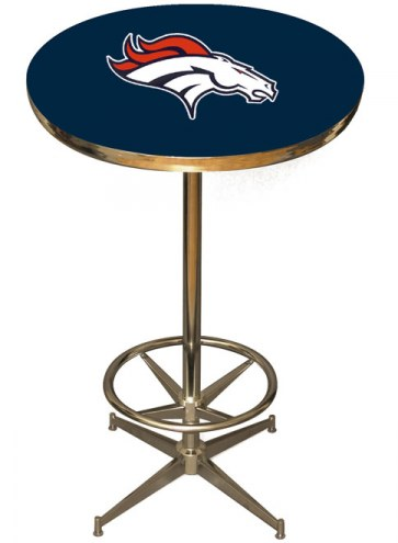 Denver Broncos NFL Team Pub Table