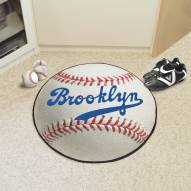 Brooklyn Dodgers Baseball Rug