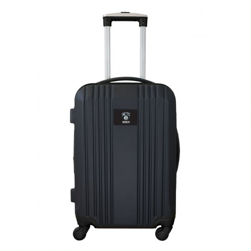 """Brooklyn Nets 21"""" Hardcase Luggage Carry-on Spinner"""