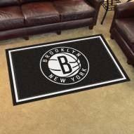 Brooklyn Nets 4' x 6' Area Rug
