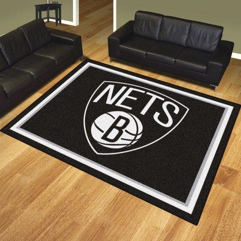 Brooklyn Nets 8' x 10' Area Rug