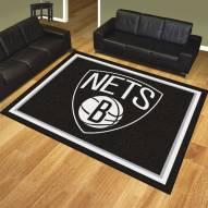 Brooklyn Nets 8' x 10' Area Rug