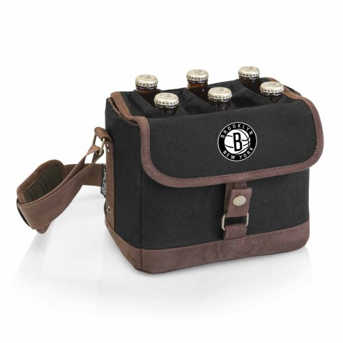 Brooklyn Nets Beer Caddy Cooler Tote with Opener