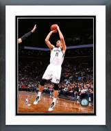 Brooklyn Nets Brook Lopez 2014-15 Action Framed Photo