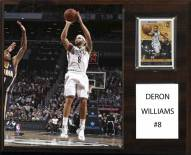 "Brooklyn Nets Deron Williams 12"" x 15"" Player Plaque"