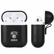 Brooklyn Nets Fan Brander Apple Air Pods Leather Case