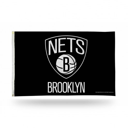 Brooklyn Nets 3' x 5' Banner Flag