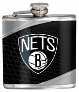 Brooklyn Nets Hi-Def Stainless Steel Flask