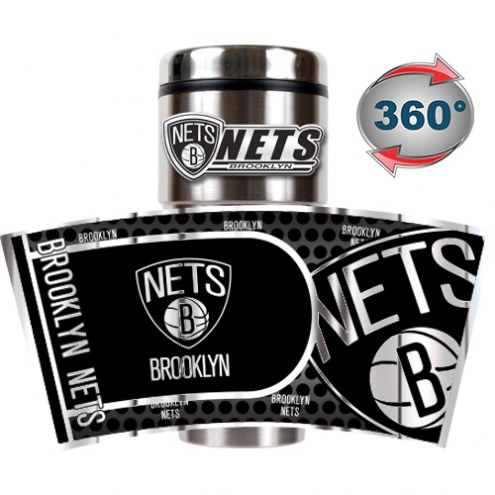 Brooklyn Nets Hi-Def Travel Tumbler