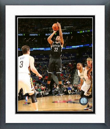 Brooklyn Nets Markel Brown Action Framed Photo