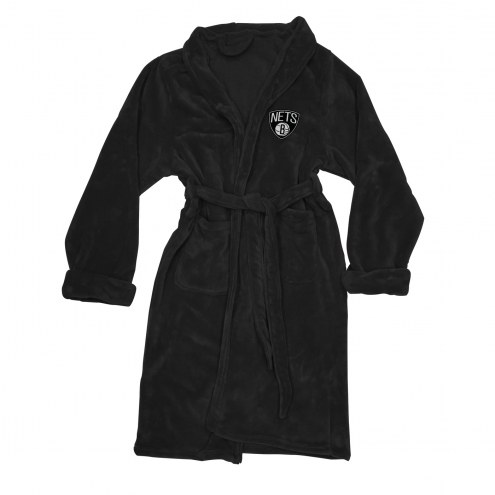 Brooklyn Nets Men's Bathrobe