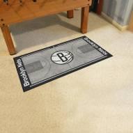 Brooklyn Nets NBA Court Large Runner