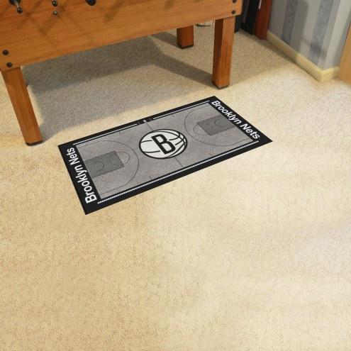Brooklyn Nets NBA Court Runner Rug