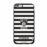Brooklyn Nets OtterBox iPhone 6 Plus/6s Plus Symmetry Stripes Case
