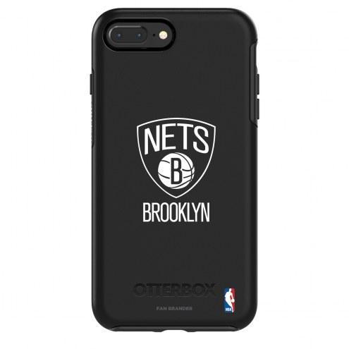 Brooklyn Nets OtterBox iPhone 8/7 Symmetry Black Case