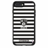 Brooklyn Nets OtterBox iPhone 8/7 Symmetry Stripes Case