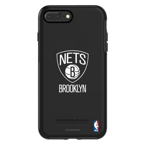 Brooklyn Nets OtterBox iPhone 8 Plus/7 Plus Symmetry Black Case
