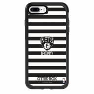 Brooklyn Nets OtterBox iPhone 8 Plus/7 Plus Symmetry Stripes Case