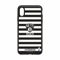 Brooklyn Nets OtterBox iPhone XS Max Symmetry Stripes Case