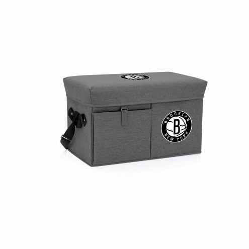 Brooklyn Nets Ottoman Cooler & Seat