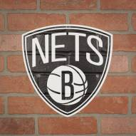 Brooklyn Nets Outdoor Logo Graphic