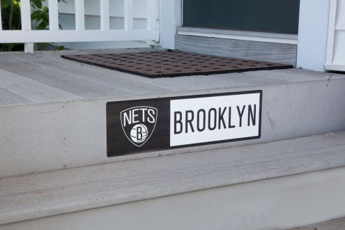 Brooklyn Nets Outdoor Step Graphic