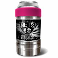 Brooklyn Nets Pink 12 oz. Locker Vacuum Insulated Can Holder