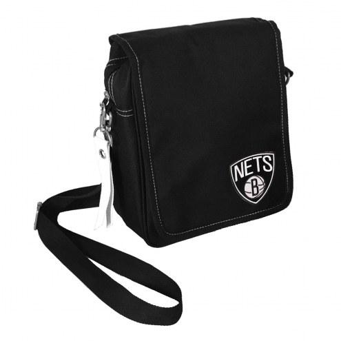Brooklyn Nets Ribbon Satchel