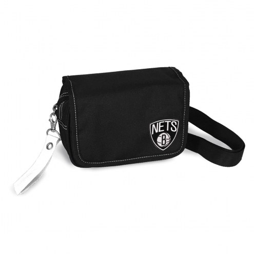 Brooklyn Nets Ribbon Waist Pack Purse
