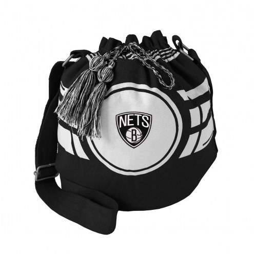 Brooklyn Nets Ripple Drawstring Bucket Bag