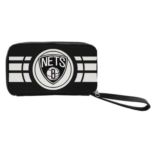 Brooklyn Nets Ripple Zip Wallet
