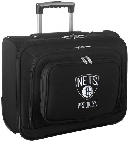Brooklyn Nets Rolling Laptop Overnighter Bag