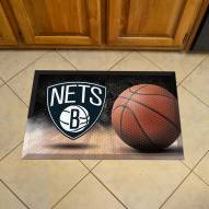 Brooklyn Nets Scraper Door Mat