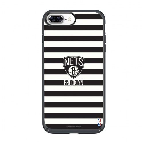 Brooklyn Nets Speck iPhone 8 Plus/7 Plus Presidio Stripes Case