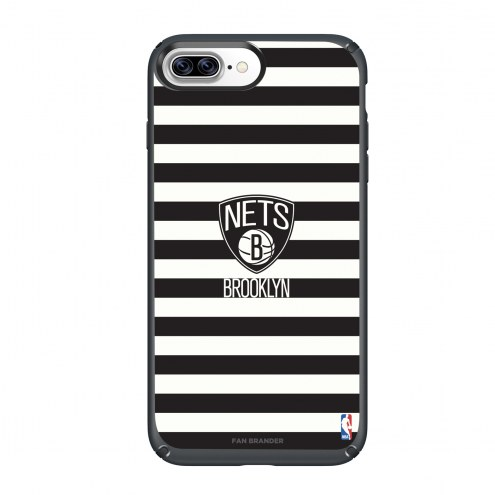 Brooklyn Nets Speck iPhone 8 Plus/7 Plus Presidio Stripes Case