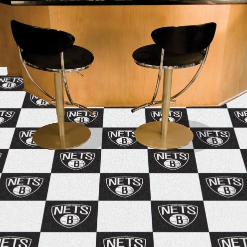 Brooklyn Nets Team Carpet Tiles