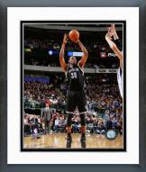 Brooklyn Nets Thaddeus Young Action Framed Photo