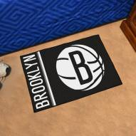 Brooklyn Nets Uniform Inspired Starter Rug