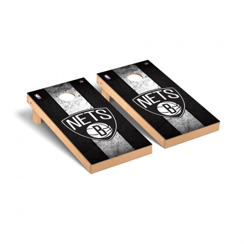 Brooklyn Nets Vintage Cornhole Game Set