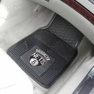 Brooklyn Nets Vinyl 2-Piece Car Floor Mats