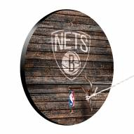 Brooklyn Nets Weathered Design Hook & Ring Game