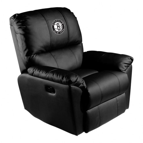 Brooklyn Nets XZipit Rocker Recliner with Secondary Logo