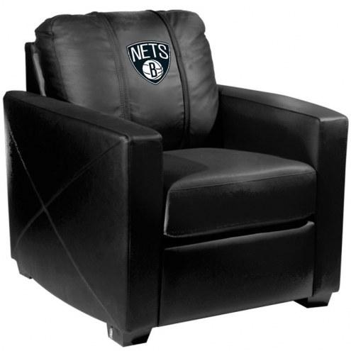 Brooklyn Nets XZipit Silver Club Chair