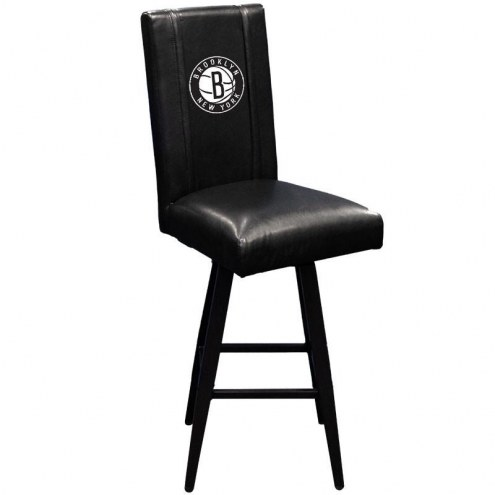 Brooklyn Nets XZipit Swivel Bar Stool 2000 with Secondary Logo